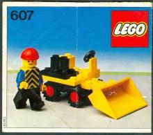INSTRUCTION MANUAL - LEGO - 607 - Original Lego 1978 - Vintage - Catalogues