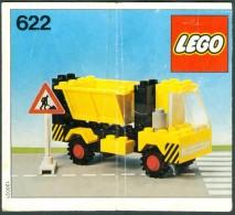 LEGO - 622 INSTRUCTION MANUAL - Original Lego 1978 - Vintage - Catalogs