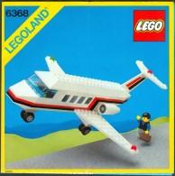 LEGO - 6368 INSTRUCTION MANUAL - Original Lego 1985 - Vintage - Catalogs
