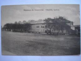 CANADA - CPA - QUEBEC - Résidence Du Gouverneur -  Belle Carte Peu Commune - Québec - La Citadelle