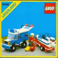 LEGO - 6698 INSTRUCTION MANUAL - Original Lego 1982 - Vintage - Catalogs
