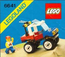 LEGO - 6641 INSTRUCTION MANUAL - Original Lego 1987 - Vintage - Catalogs