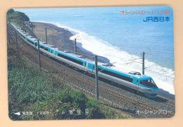 JAPAN Telefonkarte Eisenbahn, Train, *668* - Eisenbahnen