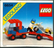 INSTRUCTION MANUAL - LEGO - 6654 - Original Lego 1983 - Vintage - Catalogs