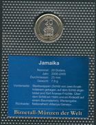 Jamaika 20 Dollar 2001, UNC. - Jamaique