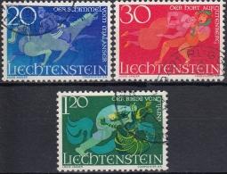 Liechtenstein 1967 Nº 422/24 Usado - Gebraucht