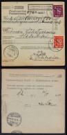 Finland Parcel Card (1930) Postmarked Alavuskk On Front And Helsinki On Back - Finland