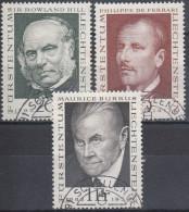 Liechtenstein 1968 Nº 451/53 Usado - Gebraucht