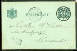 HANDGESCHREVEN BRIEFKAART Uit 1900 Van ZEVENBERGEN Naar DORDRECHT (10476g) - Periode 1891-1948 (Wilhelmina)