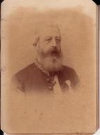 BEVEREN Florimond Comte De BROUCHOVEN De BERGEYCK Sénateur Mort En 1908  Photo Cabinet Par GERUZET - Photographs