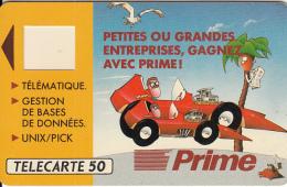 FRANCE - Prime Telematique(D254), Tirage 1400, Dummy Telecard(no Chip, No CN)