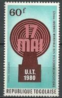 """Togo Aerien YT 427 (PA 427) """" Télécommunication """" 1980 Neuf ** - Togo (1960-...)"""