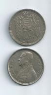 MONACO Lot De 2 Pièces De 20 Francs Louis II 1947 - Monaco