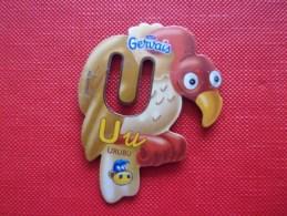 Magnet Danone  Gervais Urubu Lettre U - Letters & Digits