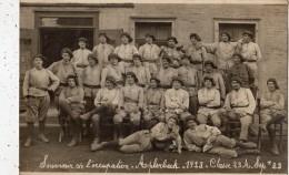 DORTMUND SOUVENIR DE L'OCCUPATION APLERBECK 1923 CLASSE 23 A SEPTEMBRE 1923 - Dortmund