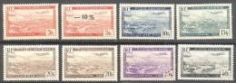 Algerie: Yvert N°A 1/6*/**; Cote 225.30€ - Algérie (1924-1962)
