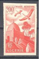 Algerie: Yvert N°A 11a*; Non Dentelécote 20.00€ - Algérie (1924-1962)