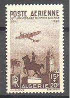 Algerie: Yvert N°A 13*; Cote 5.75€ - Algérie (1924-1962)