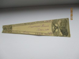 1909 IMPERIAL RUSSIA   ESTONIA   RARE!  PHARMACY DRUG  LABEL   , KERICK JA HÄÄL   , 0 - Oude Documenten