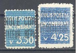 Algerie: Yvert N°Colis Postaux 40/1*; Cote 55.00€ - Algerien (1924-1962)