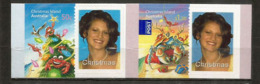 Premiers Timbres Personnalisés De L'île. Yv. 638/39  Neufs ** - Christmas Island