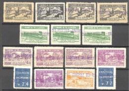Algerie: Yvert N°Colis Postaux 83/97*; Cote 142.50€ - Algérie (1924-1962)