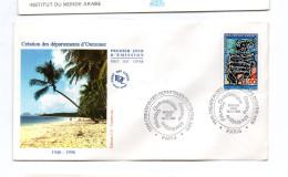 FDC France Cinquantenaire Création Des Départements D´ Outre Mer DOM   Y.T. N°  3036  75  Paris - FDC
