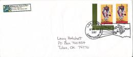 USA Cover Lawton 13-4-1997 With Special Postmark LAWOPEX LAWTON - Enveloppes évenementielles