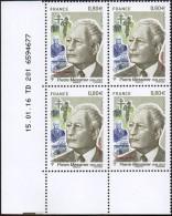 France Coin Daté N° 5035 ** (0 Tiret) Du 15.01.2016 - Homme Politique, Pierre Messmer. Croix De Lorraine, Ch.de Gaulle - 2010-....