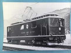 5684- Suisse  Brünig Voie étroite  HGe 4/4 1991-1992 Editions CFF No 23 - Trains