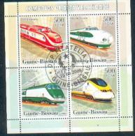 Guinea Bissau & Trains 2000 (L5) - Trains