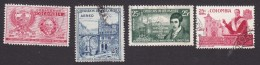 Colombia, Scott #C299, C307, C309, C315, Used, Coat Of Arms, Scenic View, IGY, Carrasquilla, Issued 1957-58 - Colombie