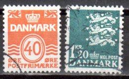 Dänemark 1971 Mi. 512-513 Gestempelt (br1144) - Dinamarca