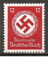 DR - 1934 - Michel 138 ** - Service