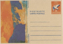 Liechtenstein   Postkarte - Carte Postale. # 05024 - Stamped Stationery