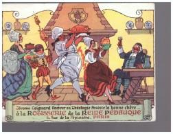 ROTISSERIE DE LA REINE PEDAUQUE  JEROME COIGNARD  6 RUE DE LA PEPINIERE PARIS  GASTRONOMIE - Publicités