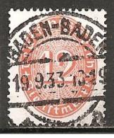 DR 1932 - Michel 129 O (1,20 €) - Dienstpost