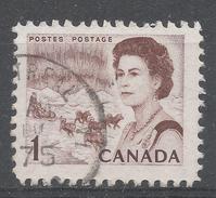 Canada 1967. Scott #454 (U) Northern Lights And Dog Team - 1952-.... Règne D'Elizabeth II