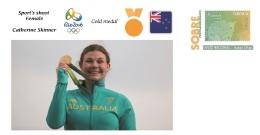 Spain 2016 - Olympic Games Rio 2016 -  Gold Medal Sport's Shoot Female Australia Cover - Otros