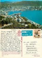 From Mt Victoria, Wellington, New Zealand Postcard Posted 1982 Stamp - Nuova Zelanda