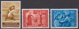 Lichtenstein 1960 MiNr.395-397 ** Postfrisch. Landschaften ( 3463 ) - Liechtenstein