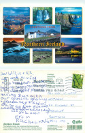 Multiview, Northern Ireland Postcard Posted 2009 Stamp - Antrim / Belfast