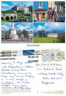 Westport, Mayo, Ireland Postcard Posted 2010 Stamp - Mayo