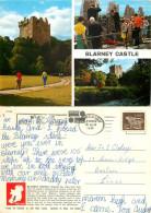 Blarney Castle, Cork, Ireland Postcard Posted 1971 Stamp - Cork