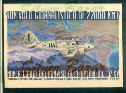 AEREI - MANER LUALDI - TRASVOLATE - 1919-1938: Fra Le Due Guerre