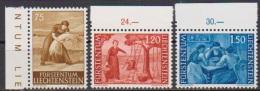 Lichtenstein 1960 MiNr.395-397 ** Postfrisch. Landschaften ( 3465 ) - Liechtenstein
