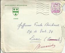Brouwerij Stuckens - Asse - Envelop 1967 - Lebensmittel