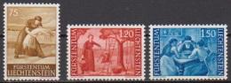 Lichtenstein 1960 MiNr.395-397 * Falz  Landschaften ( 3466 ) - Liechtenstein