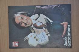 REF 258  : Autographe Dédicace Original José Garcimore Magie TF1 Télé Star - Autographes