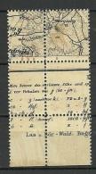LATVIA Lettland 1918 Michel 2 In 4-Block MNH/MH - Lettonia